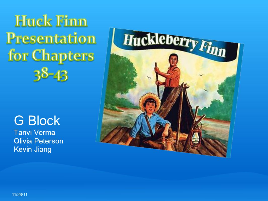 Chapter 43 Quotations Dah, now, Huck, what I tell you?- what I tell you up dah on Jackson Island.