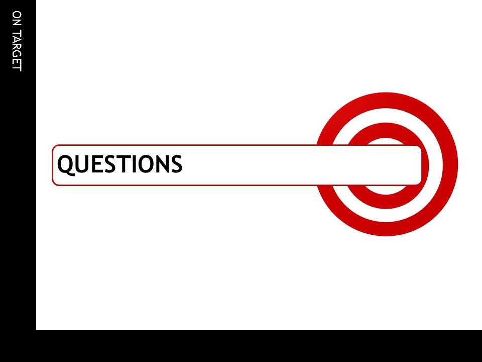 ON TARGET QUESTIONS