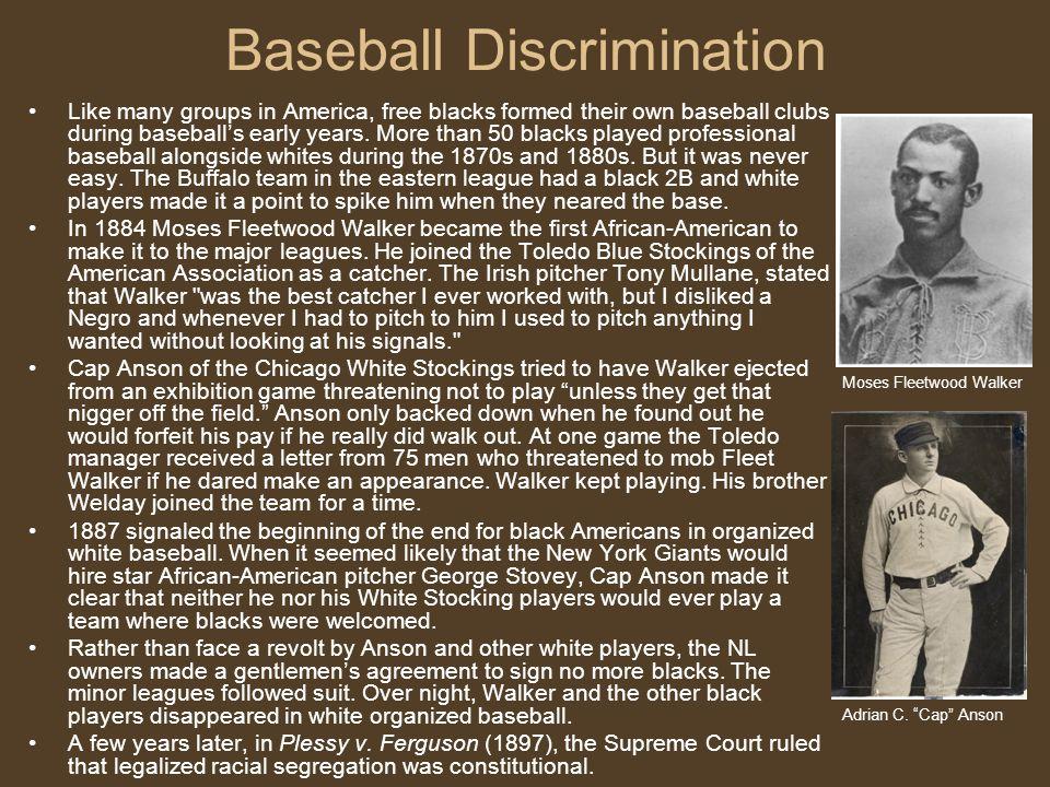 Negro Baseball League (1944).