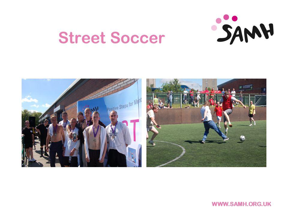 WWW.SAMH.ORG.UK Street Soccer