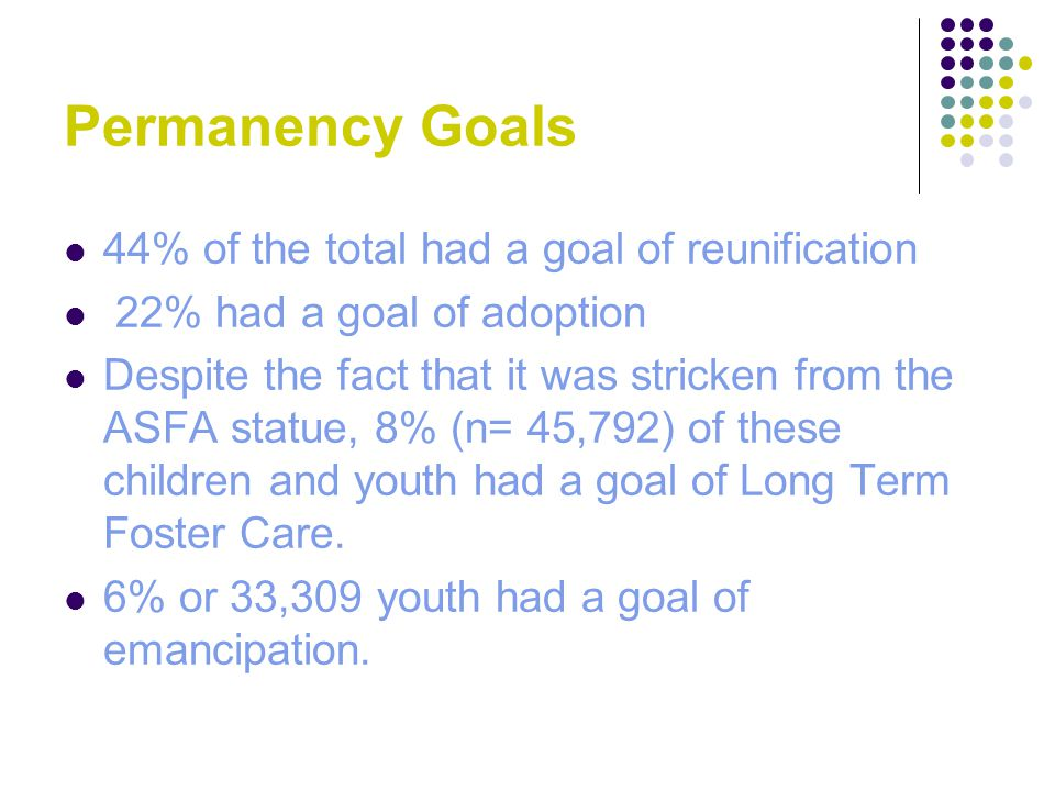 References & Resources Permanency Planning and the Older Adolescent: Connections for a Lifetime.