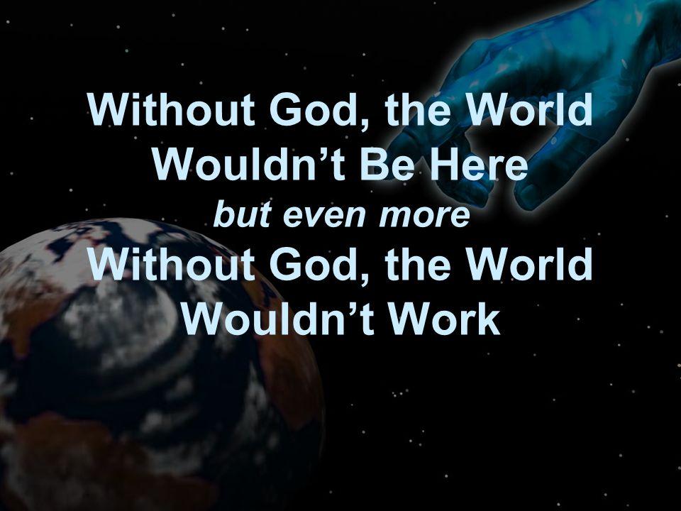 Days of Genesis 1 Original Condition (v.2): God's Work (v.3 ff): Based on Charles Hummel, Creation or Evolution.