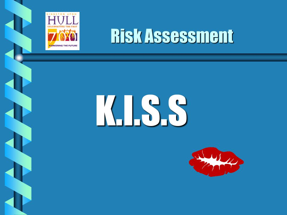 What is a risk? The likelihood of the harm being realised.