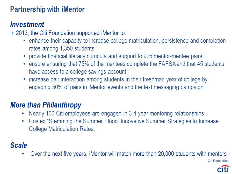 How can mentors support first generation college students.