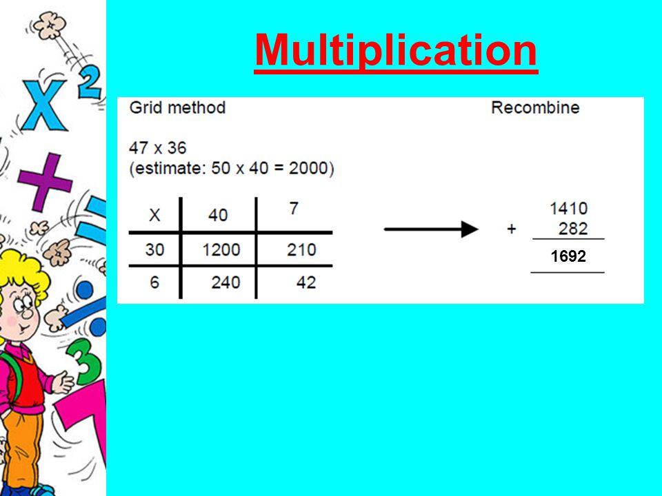 Multiplication 1692