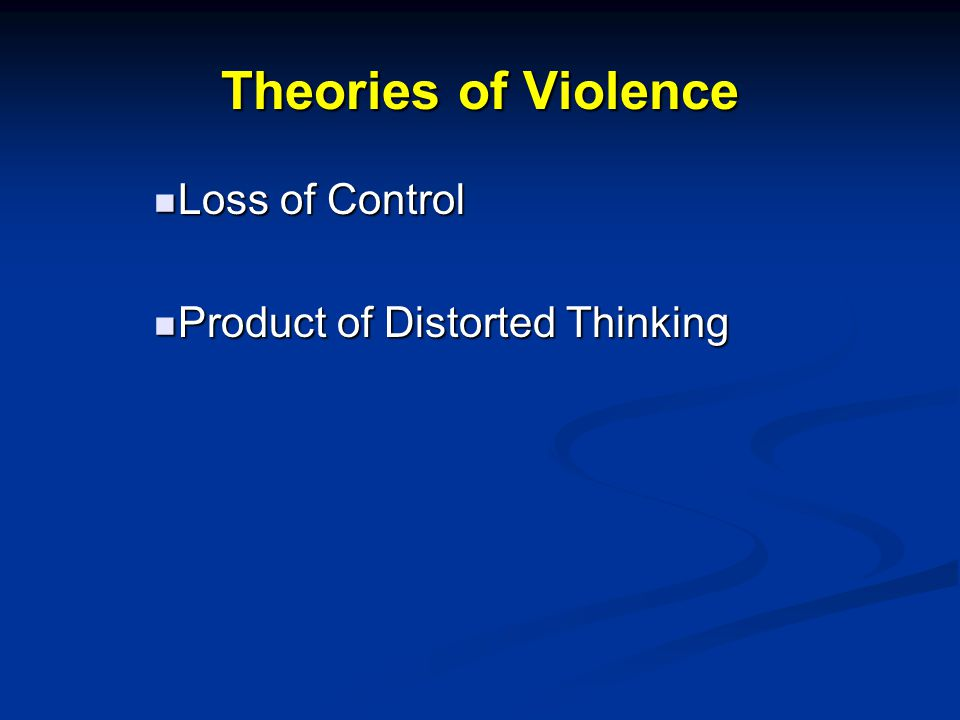 Loss of Control Impulse Control Impulse Control Stop and Think Stop and Think Exit Risky Situations Exit Risky Situations