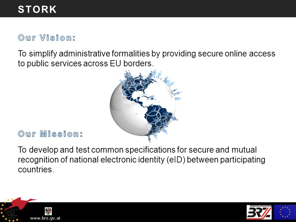 www.brz.gv.at STORK – eID Interoperabilität info@eid-stork.eu klaus.john@brz.gv.at