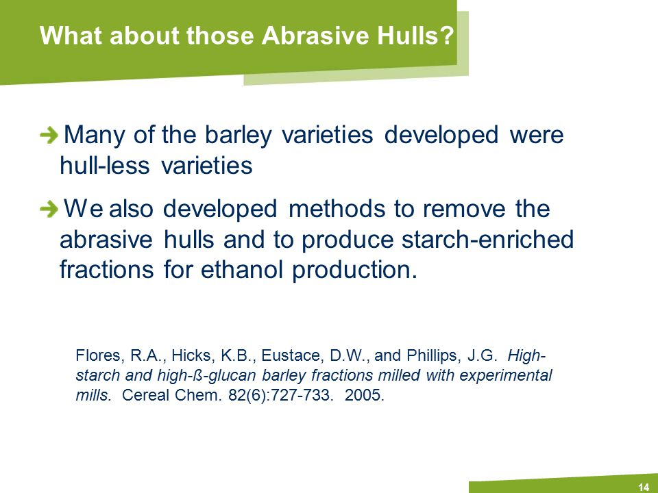 Apply name/department/presentation title in header and footer What about those Abrasive Hulls.