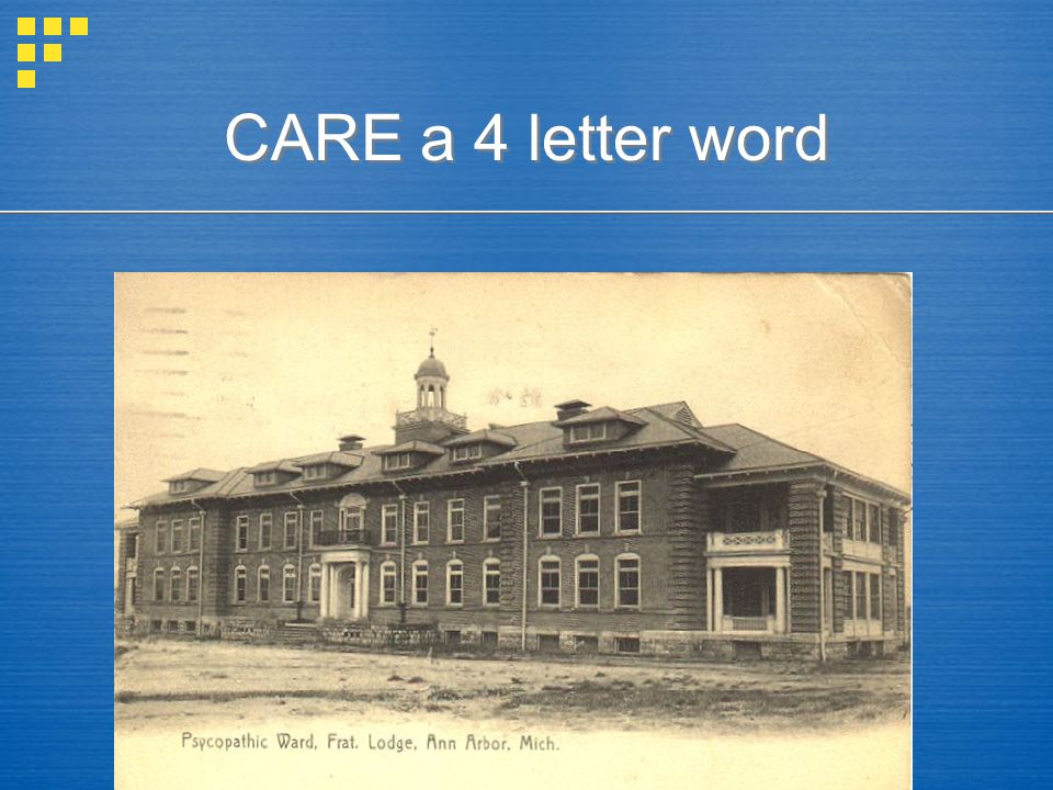 CARE a 4 letter word