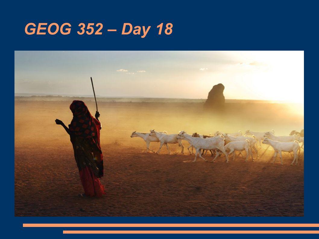GEOG 352 – Day 18