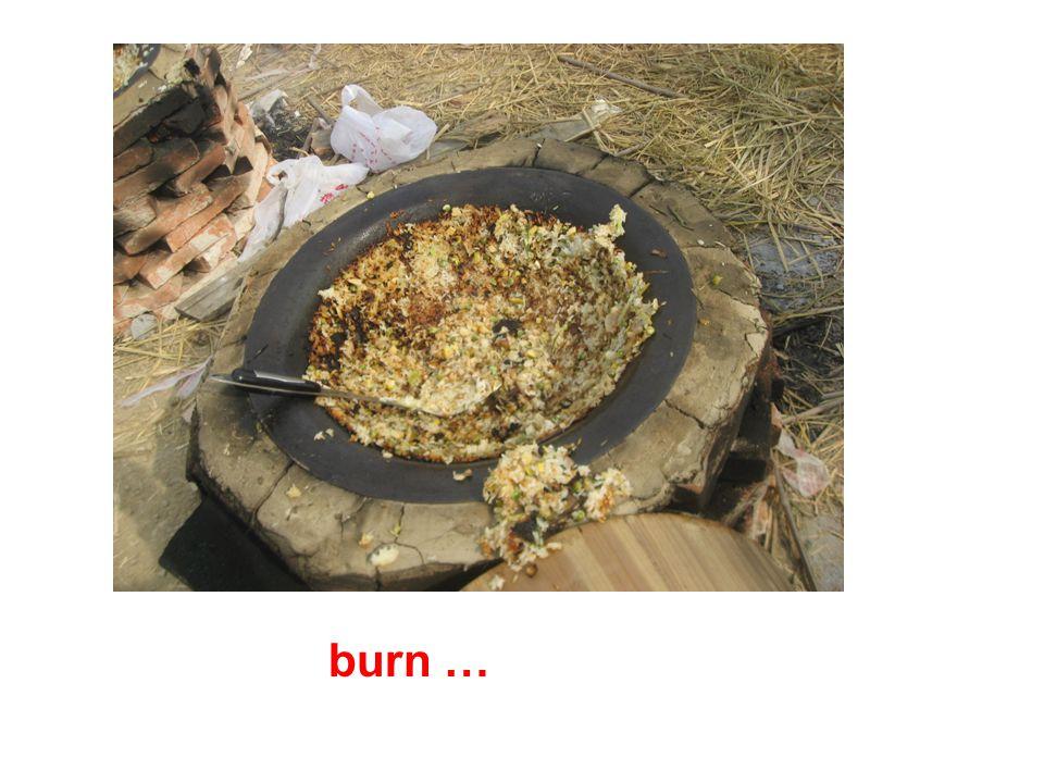 burn …