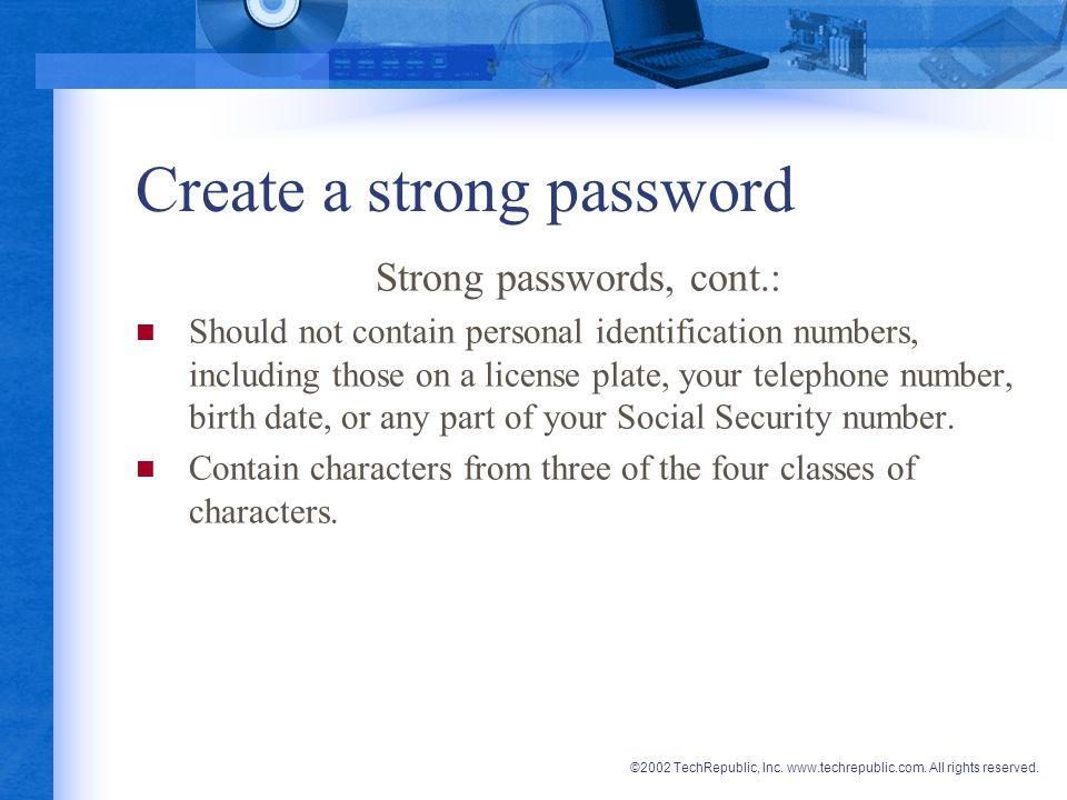 ©2002 TechRepublic, Inc.www.techrepublic.com. All rights reserved.