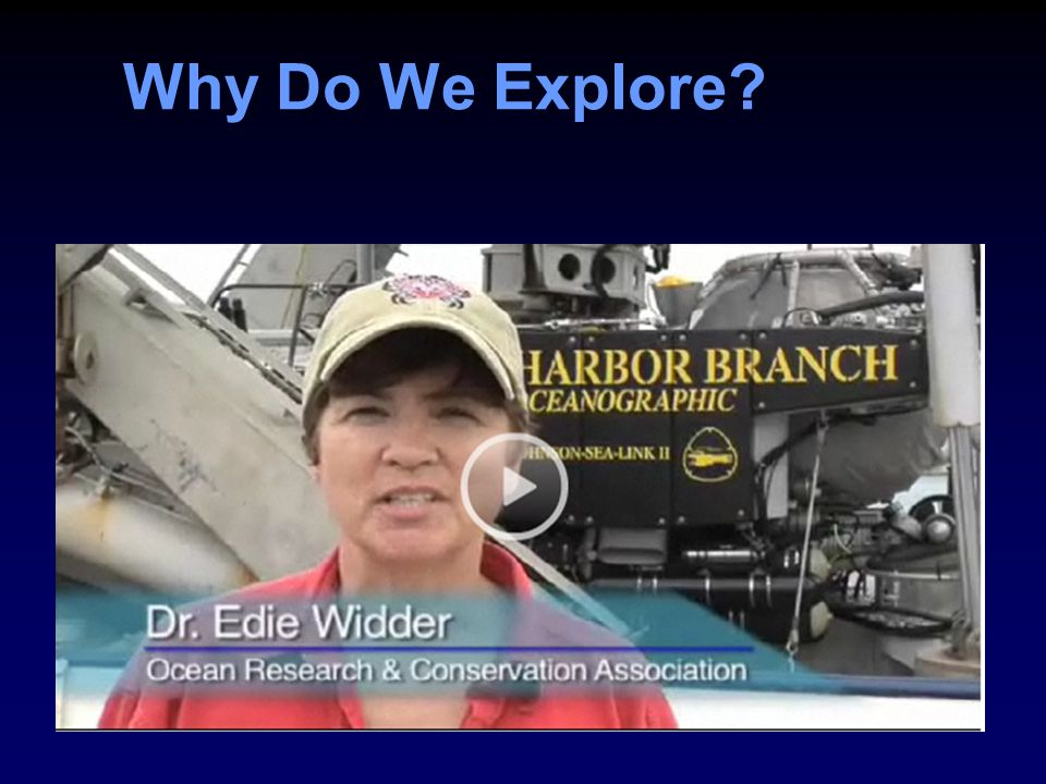 Why Do We Explore?