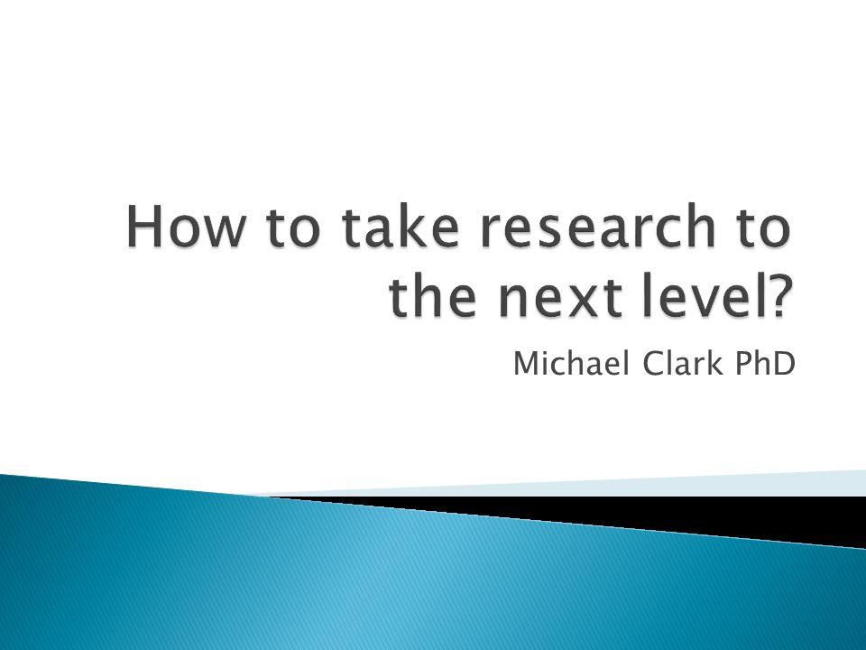 Michael Clark PhD