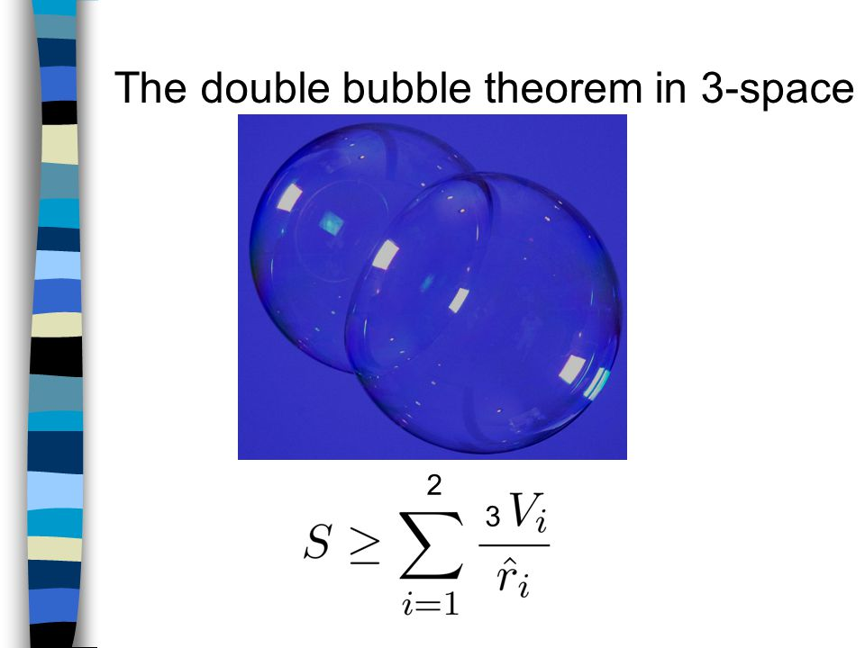 The double bubble theorem in 3-space 2 3