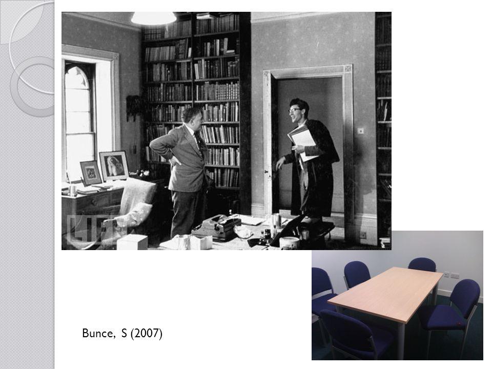 Bunce, S (2007)