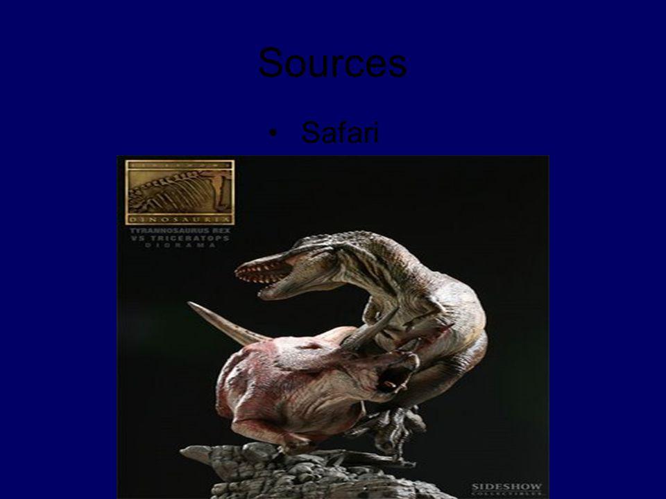 Sources Safari