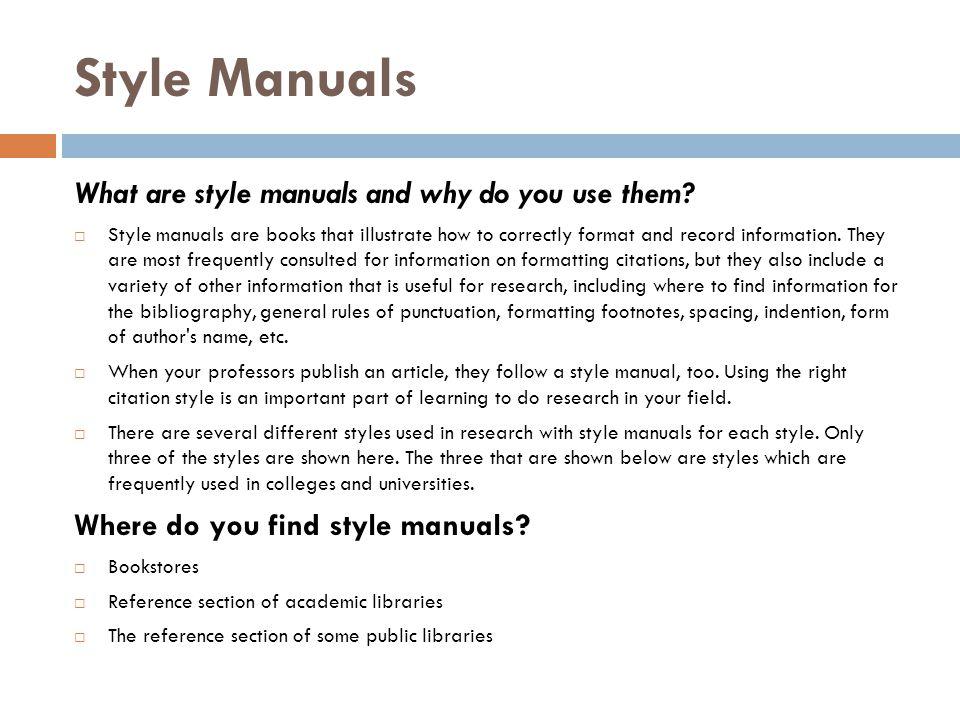 Style Manuals MLA Gibaldi, Joseph.MLA Handbook for Writers of Research Papers.