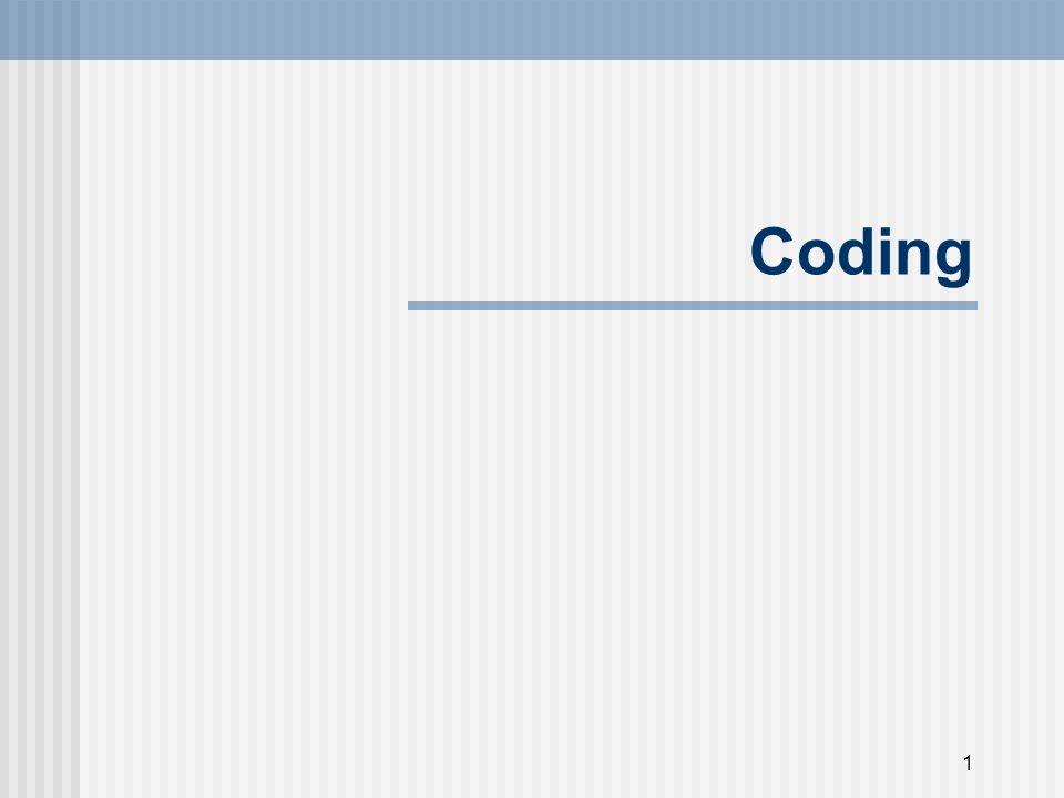 2 Coding/indexing/categorizing N.B.