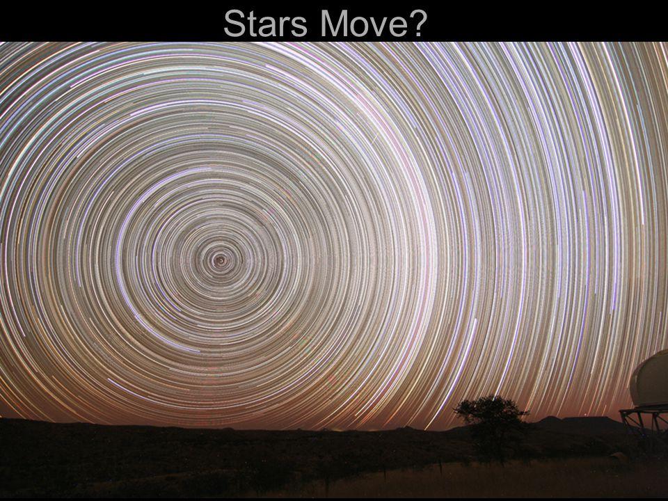 Stars Move?