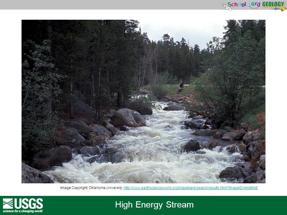 High Energy Stream Image Copyright: Oklahoma University, http://www.earthscienceworld.org/imagebank/search/results.html?ImageID=hn86m8http://www.earth
