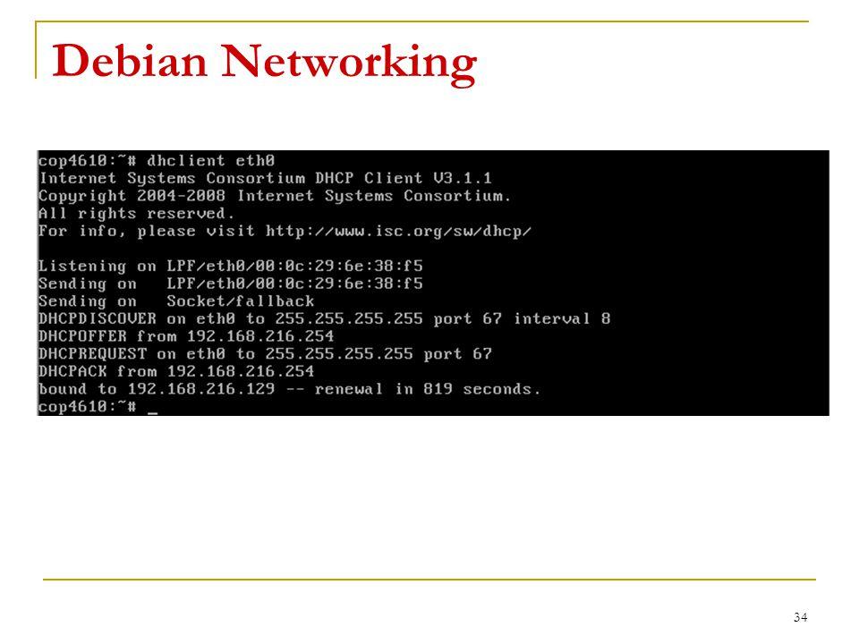 Debian Networking 34