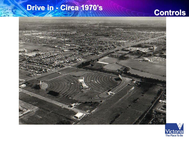 Controls Drive in - Circa 1970's