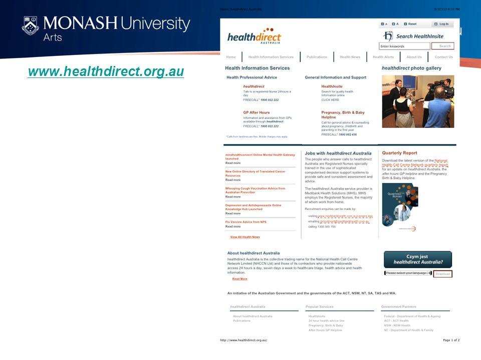 www.healthdirect.org.au
