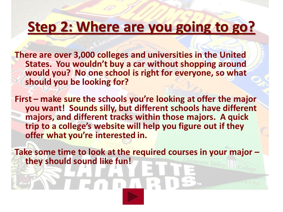 There are over 3,000 colleges and universities in the United States.