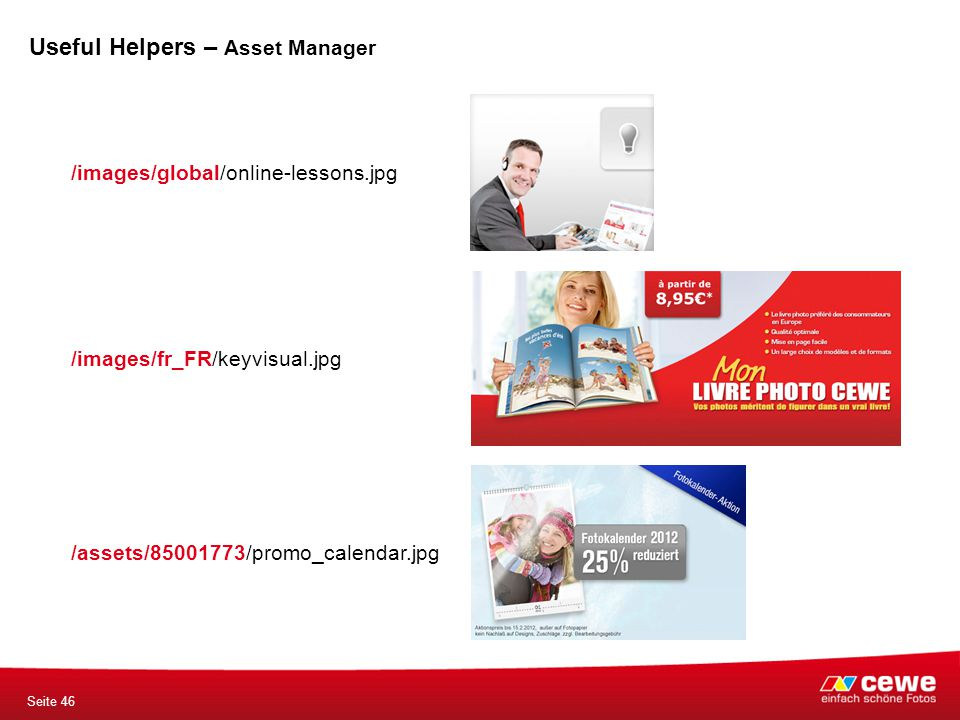 /images/fr_FR/keyvisual.jpg /images/global/online-lessons.jpg /assets/85001773/promo_calendar.jpg Seite 46 Useful Helpers – Asset Manager