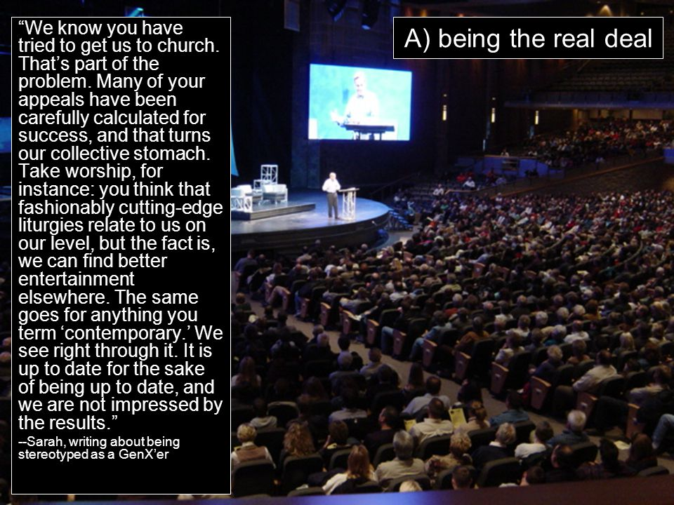 "www.earlcreps.com A) being the real deal ""We know you have tried to get us to church. That's part of the problem. Many of your appeals have been caref"