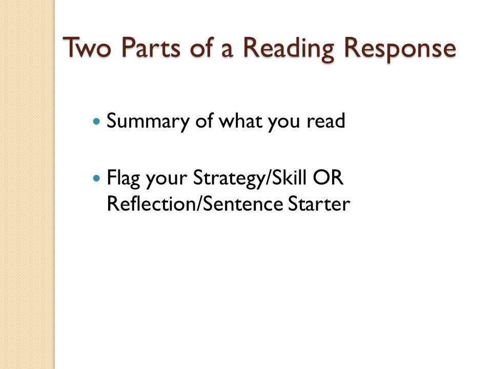 Reading Response IRL