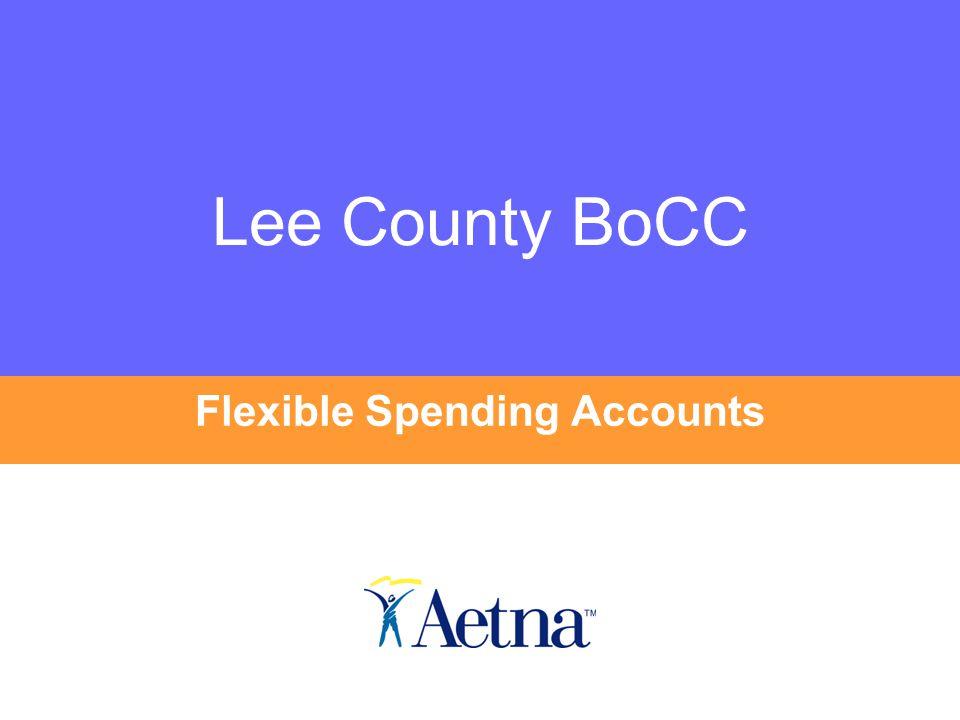 Lee County BoCC Flexible Spending Accounts