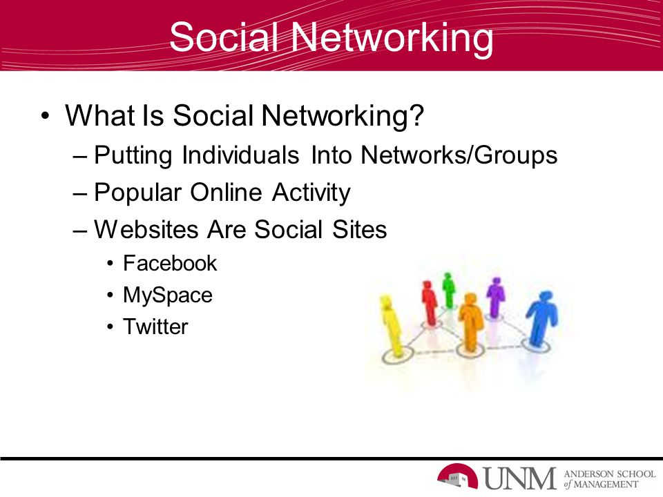 Social Networking What Is Social Networking.