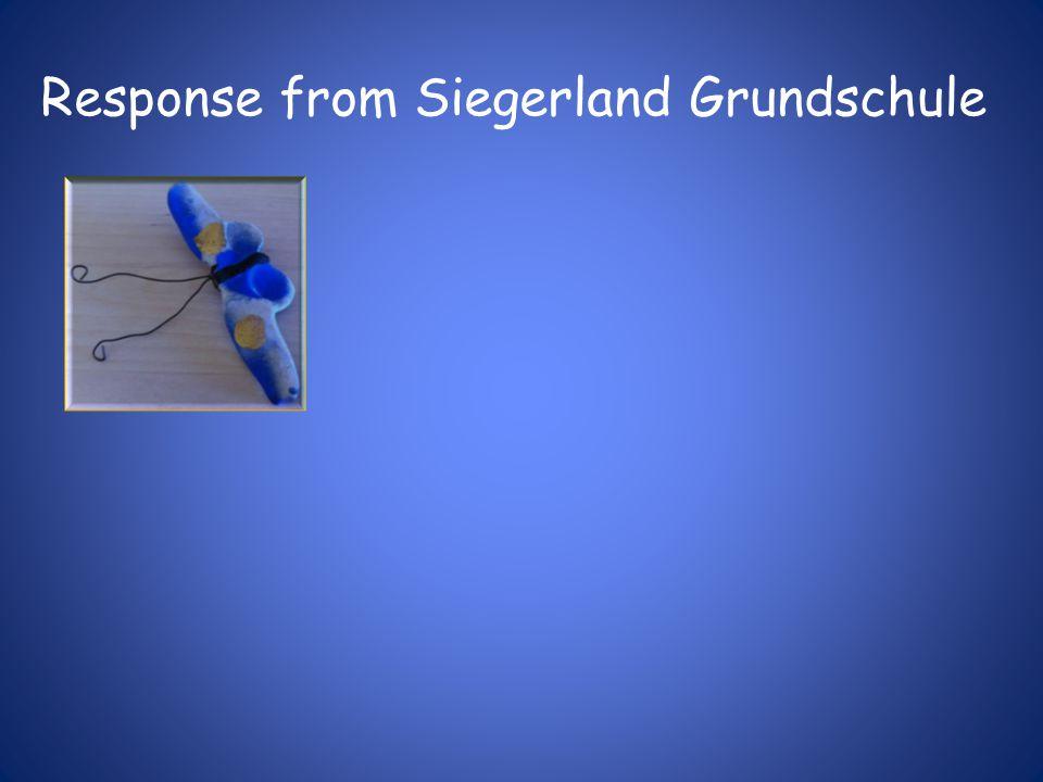 Response from Siegerland Grundschule