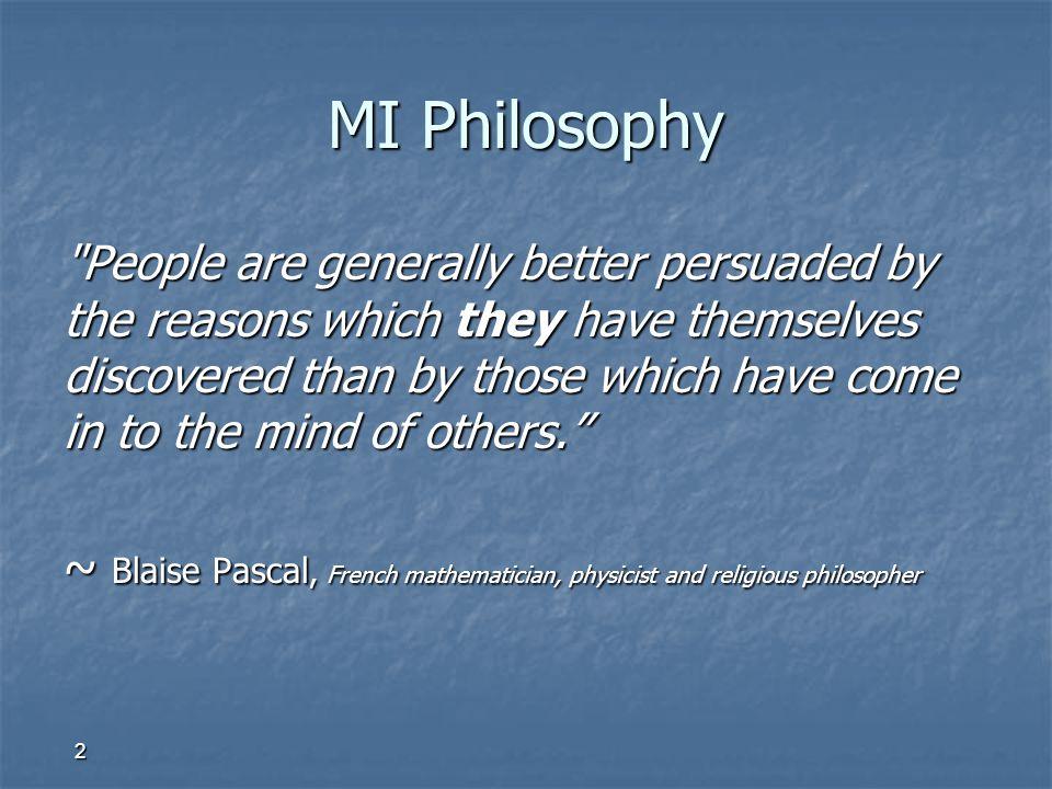 2 MI Philosophy