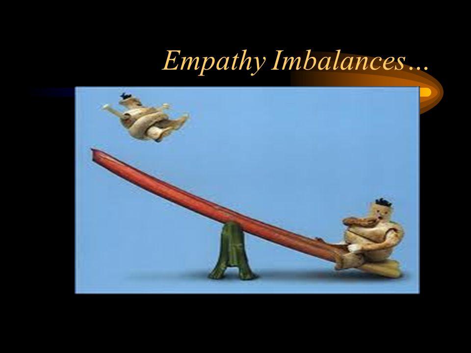 Empathy Imbalances…