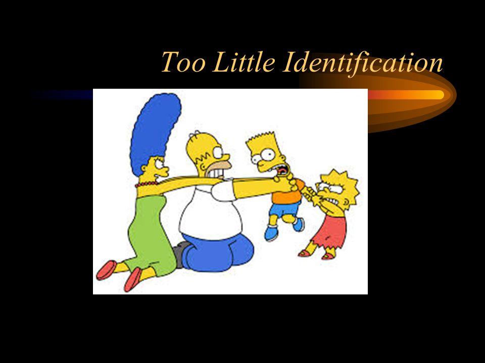 Too Little Identification