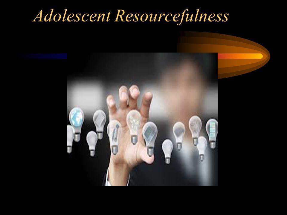 Adolescent Resourcefulness