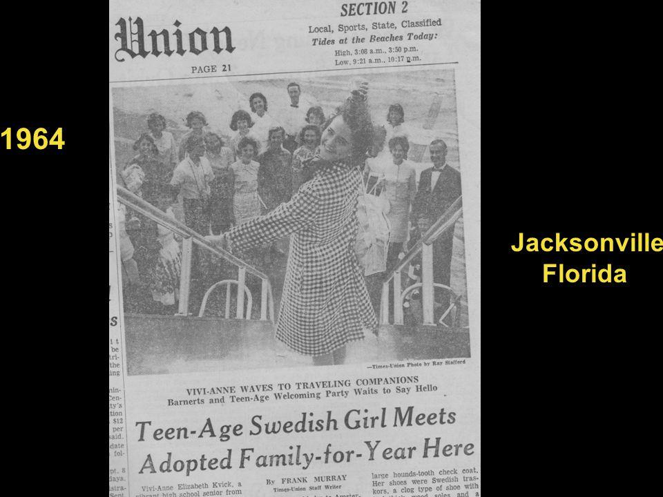 1964 Jacksonville Florida