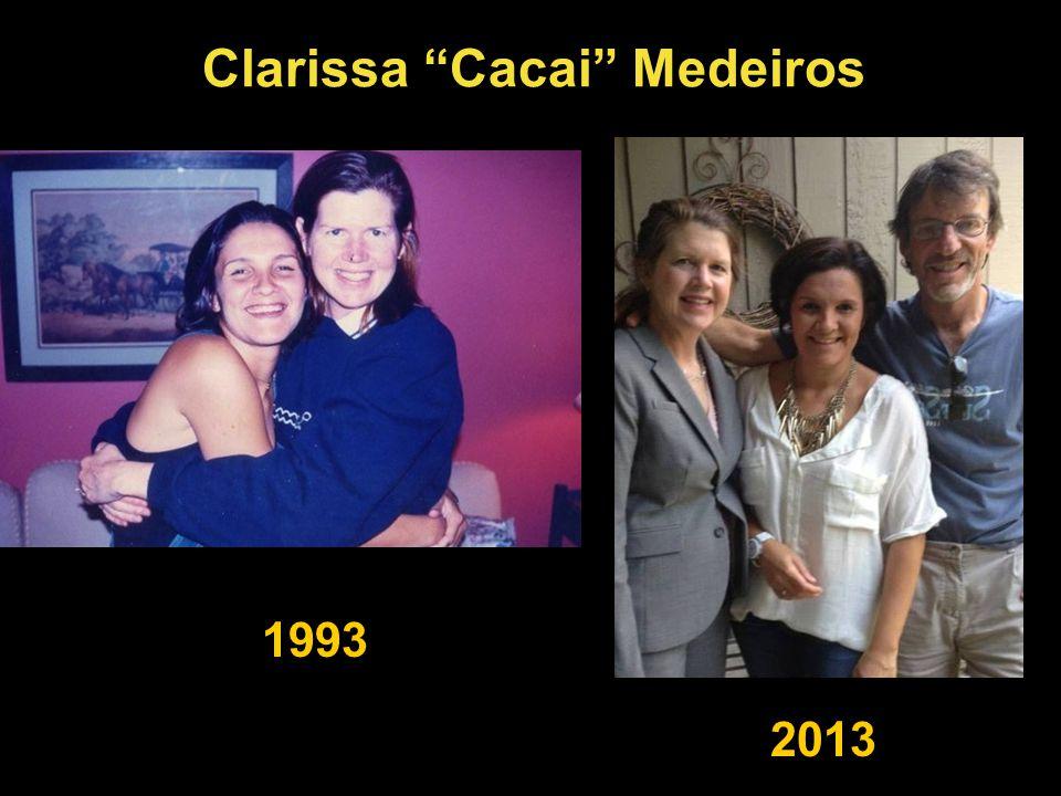 Clarissa Cacai Medeiros 1993 2013