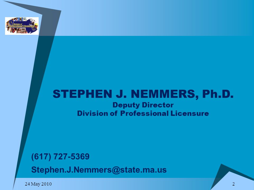STEPHEN J. NEMMERS, Ph.D.