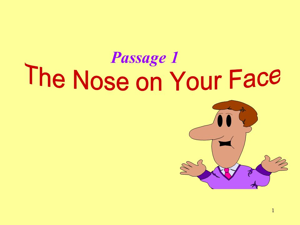 1 Passage 1