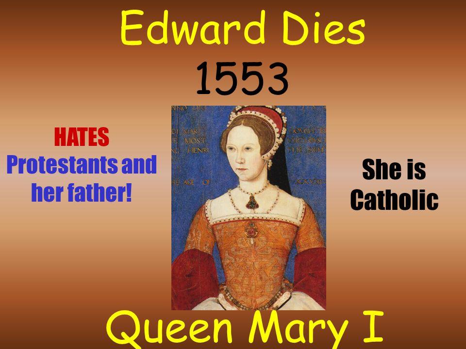 Henry Dies 1547 King Edward VII Age 9 Very sickly boy