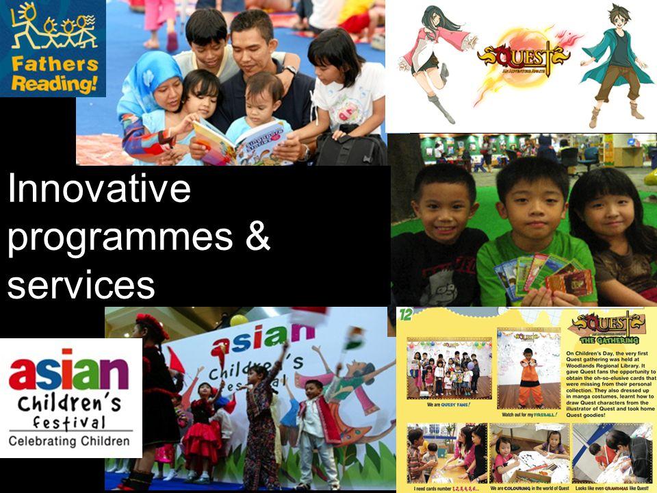 Innovative programmes & services