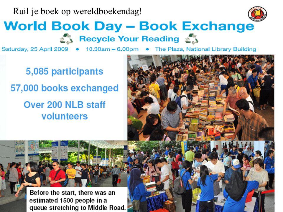 Ruil je boek op wereldboekendag!