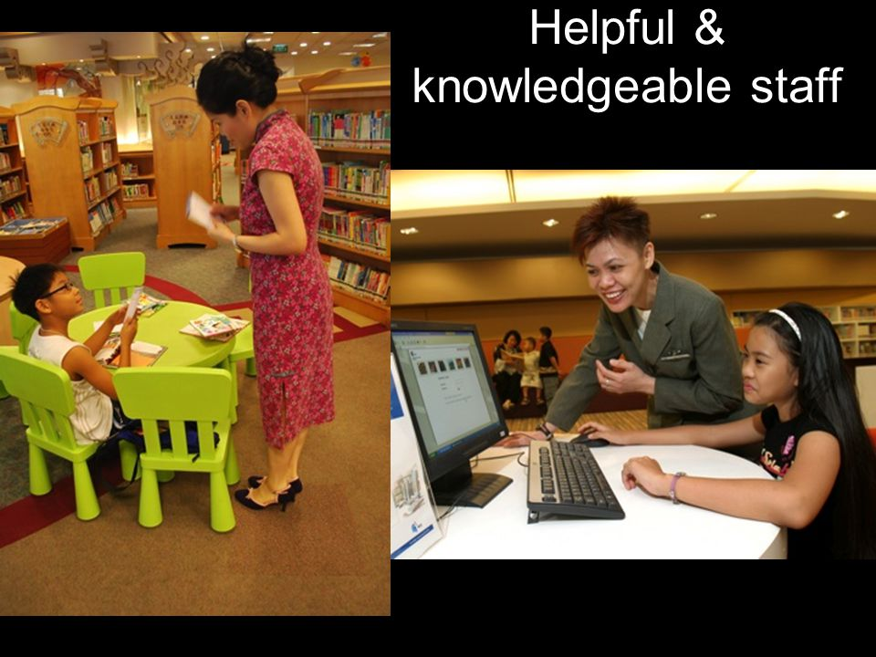 Helpful & knowledgeable staff