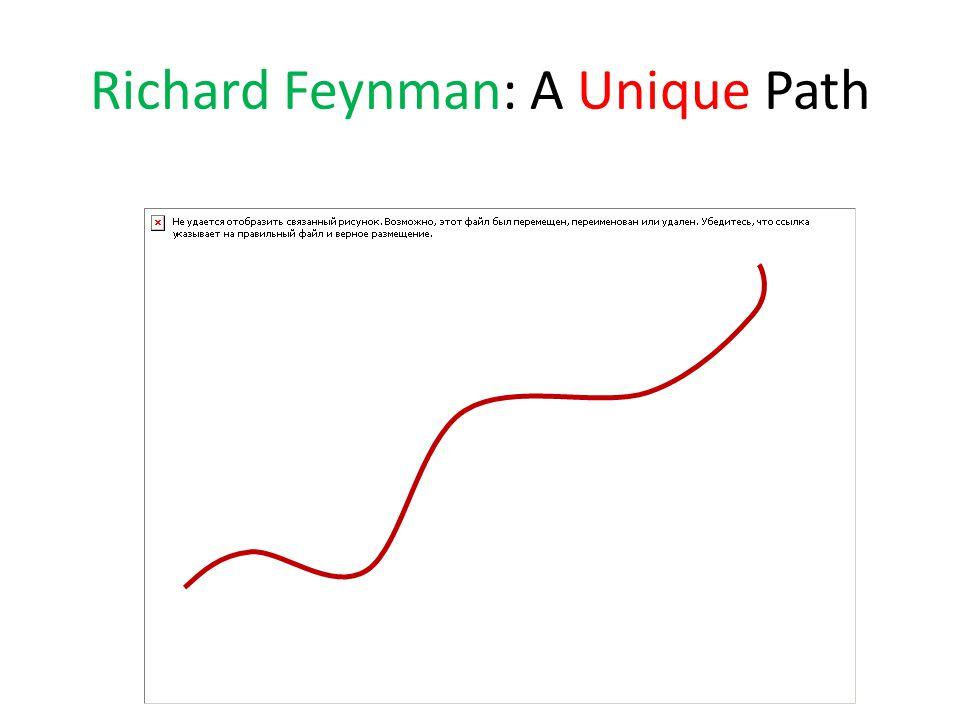 Richard Feynman: A Unique Path