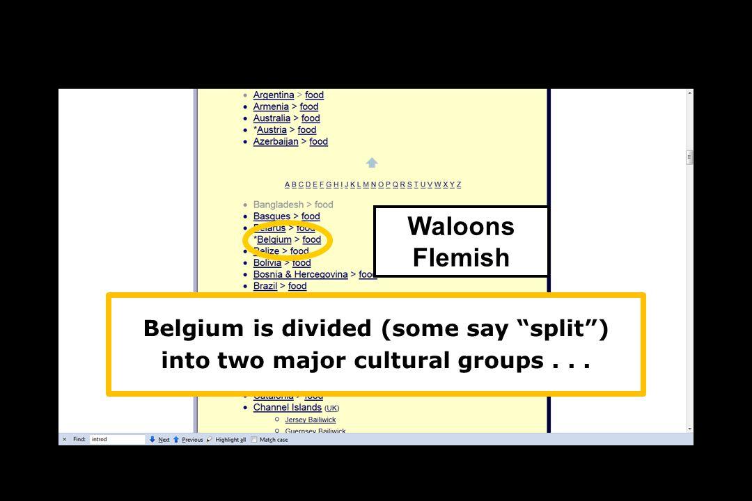 Waloons Flemish