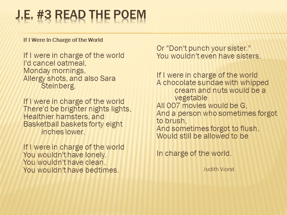 Short Answer What do you know about the speaker in this poem.